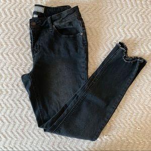Falls Creek Black distressed Skinny Jeans